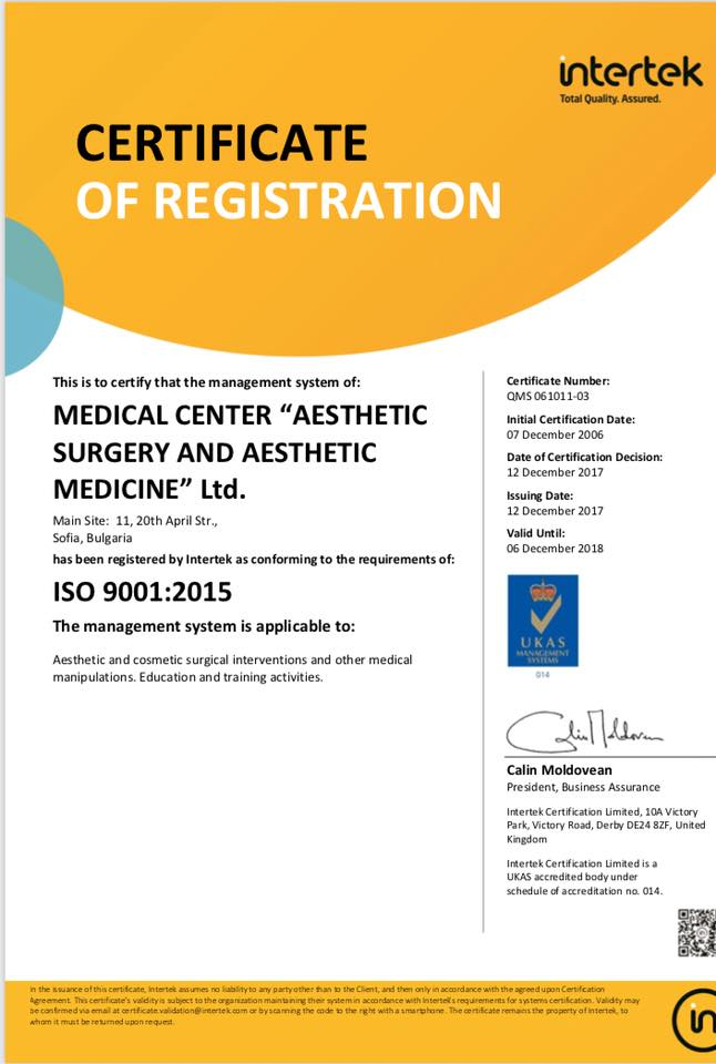 ISO 9001:2005 Certificate
